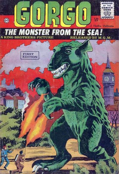 Cover for Gorgo (Charlton, 1961 series) #1 [British]