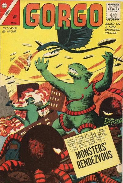 Cover for Gorgo (Charlton, 1961 series) #12 [British]