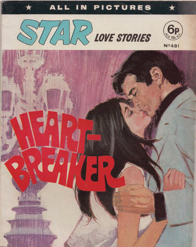 Cover for Star Love Stories (D.C. Thomson, 1965 series) #481