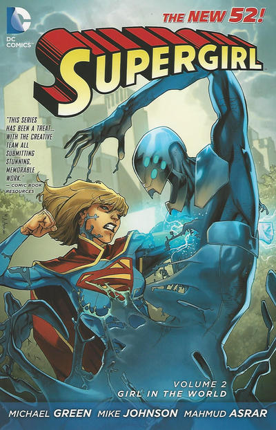 Cover for Supergirl (DC, 2012 series) #2 - Girl In the World