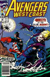 Cover for Avengers West Coast (Marvel, 1989 series) #69 [Newsstand]