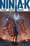 Cover for Ninja-K (Valiant Entertainment, 2017 series) #8 [Cover B - Alan Quah and Komikaki Studios]