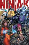 Cover for Ninja-K (Valiant Entertainment, 2017 series) #8 [Cover D - Juan José Ryp]