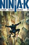 Cover for Ninja-K (Valiant Entertainment, 2017 series) #7 [Cover B - Alan Quah and Komikaki Studios]