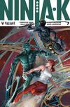 Cover for Ninja-K (Valiant Entertainment, 2017 series) #7 [Cover C - Clayton Crain]