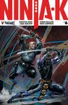 Cover for Ninja-K (Valiant Entertainment, 2017 series) #6 [Cover C - Clayton Crain]