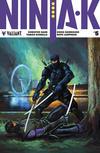 Cover for Ninja-K (Valiant Entertainment, 2017 series) #5 [Cover B - Lucas Troya]