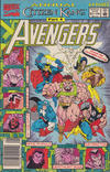Cover for The Avengers Annual (Marvel, 1967 series) #21 [Newsstand]