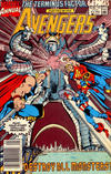 Cover for The Avengers Annual (Marvel, 1967 series) #19 [Newsstand]