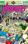 Cover for The Avengers Annual (Marvel, 1967 series) #20 [Newsstand]