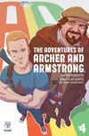 Cover for A&A: The Adventures of Archer & Armstrong (Valiant Entertainment, 2016 series) #4 [Cover B - Kano]