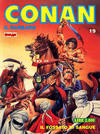 Cover for Conan Spada Selvaggia (Comic Art, 1986 series) #19