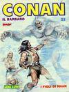 Cover for Conan Spada Selvaggia (Comic Art, 1986 series) #22