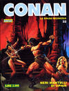 Cover for Conan Spada Selvaggia (Comic Art, 1986 series) #32