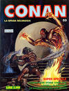 Cover for Conan Spada Selvaggia (Comic Art, 1986 series) #33