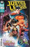 Cover for Justice League (DC, 2018 series) #2 [Jorge Jimenez Cover]