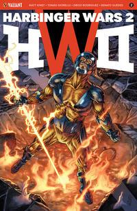 Cover Thumbnail for Harbinger Wars 2 (Valiant Entertainment, 2018 series) #2 [Cover A - J. G. Jones]