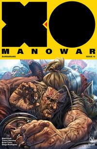 Cover Thumbnail for X-O Manowar (2017) (Valiant Entertainment, 2017 series) #16 [Cover A - Lewis LaRosa]