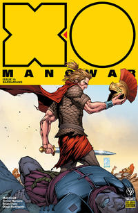 Cover Thumbnail for X-O Manowar (2017) (Valiant Entertainment, 2017 series) #16 Pre-Order Edition