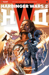 Cover Thumbnail for Harbinger Wars 2 (Valiant Entertainment, 2018 series) #1 [Cover A - J. G. Jones]