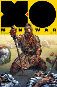 Cover Thumbnail for X-O Manowar (2017) (Valiant Entertainment, 2017 series) #15 [Cover A - Lewis LaRosa]