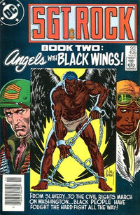 Cover Thumbnail for Sgt. Rock (DC, 1977 series) #406 [Canadian]