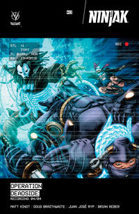 Cover Thumbnail for Ninjak (Valiant Entertainment, 2015 series) #13 [Cover A - Doug Braithwaite]