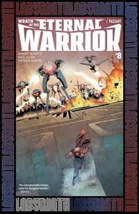 Cover Thumbnail for Wrath of the Eternal Warrior (Valiant Entertainment, 2015 series) #8 [Cover D - Stephen Segovia]
