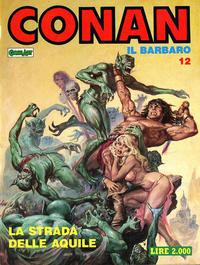 Cover Thumbnail for Conan Spada Selvaggia (Comic Art, 1986 series) #12