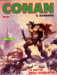 Cover Thumbnail for Conan Spada Selvaggia (Comic Art, 1986 series) #2