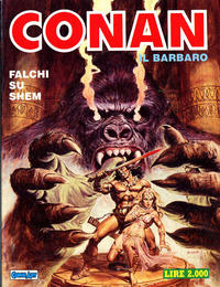 Cover Thumbnail for Conan Spada Selvaggia (Comic Art, 1986 series) #4