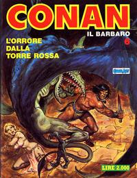 Cover Thumbnail for Conan Spada Selvaggia (Comic Art, 1986 series) #6