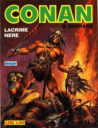 Cover Thumbnail for Conan Spada Selvaggia (Comic Art, 1986 series) #8