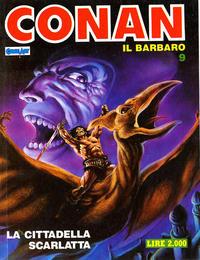 Cover Thumbnail for Conan Spada Selvaggia (Comic Art, 1986 series) #9