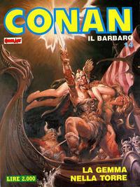 Cover Thumbnail for Conan Spada Selvaggia (Comic Art, 1986 series) #14