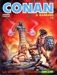 Cover Thumbnail for Conan Spada Selvaggia (Comic Art, 1986 series) #15