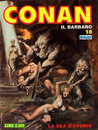 Cover Thumbnail for Conan Spada Selvaggia (Comic Art, 1986 series) #18