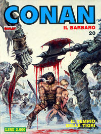 Cover Thumbnail for Conan Spada Selvaggia (Comic Art, 1986 series) #20