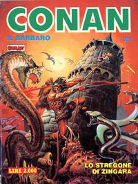 Cover Thumbnail for Conan Spada Selvaggia (Comic Art, 1986 series) #21