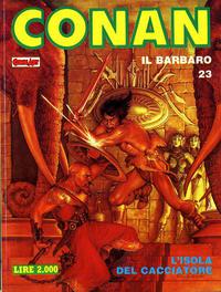 Cover Thumbnail for Conan Spada Selvaggia (Comic Art, 1986 series) #23