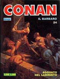 Cover Thumbnail for Conan Spada Selvaggia (Comic Art, 1986 series) #24