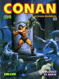 Cover Thumbnail for Conan Spada Selvaggia (Comic Art, 1986 series) #36