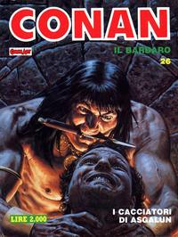 Cover Thumbnail for Conan Spada Selvaggia (Comic Art, 1986 series) #26