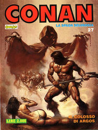 Cover Thumbnail for Conan Spada Selvaggia (Comic Art, 1986 series) #27