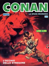 Cover Thumbnail for Conan Spada Selvaggia (Comic Art, 1986 series) #34