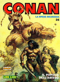 Cover Thumbnail for Conan Spada Selvaggia (Comic Art, 1986 series) #35