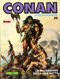 Cover Thumbnail for Conan Spada Selvaggia (Comic Art, 1986 series) #29