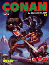 Cover Thumbnail for Conan Spada Selvaggia (Comic Art, 1986 series) #30
