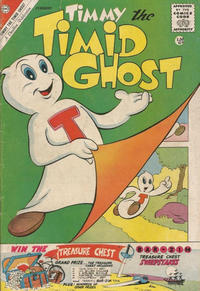 Cover Thumbnail for Timmy the Timid Ghost (Charlton, 1956 series) #25 [British]
