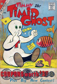 Cover Thumbnail for Timmy the Timid Ghost (Charlton, 1956 series) #26 [British]